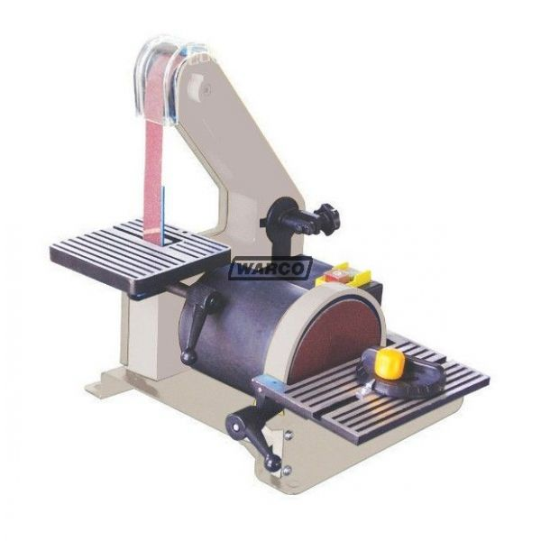 Bds 130 bench sander small electric belt disc wood sanding Bench belt sander