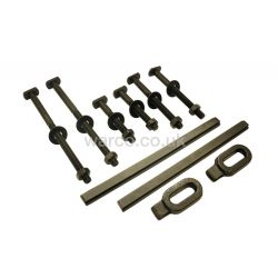 Clamping Kit for Myford Lathe with Tee Nuts