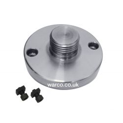 """Boxford Backplate for 4"""" Rotary Tables Chuck Adapter"""