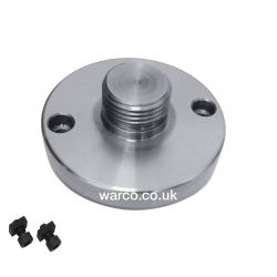 Boxford Backplate for HV4 Rotary Table Chuck Adapter