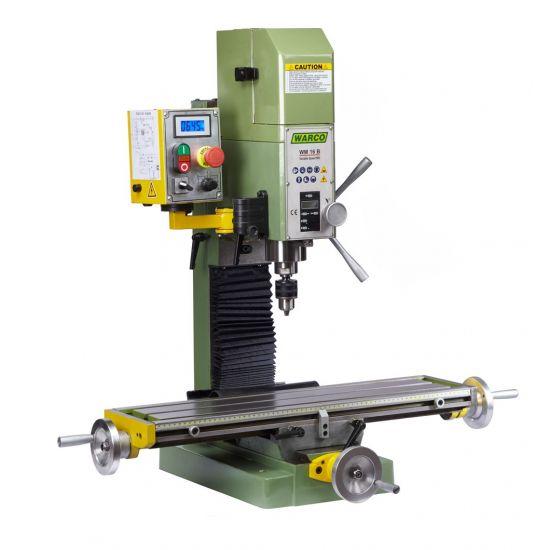 Warco Wm 16b Milling Machine Belt Drive Metalworking Mill