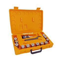 ER 32 Collet Chuck & Collets Set - ISO 40