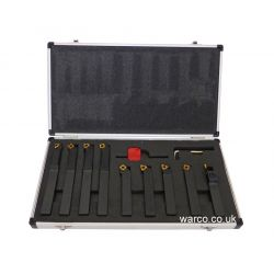 Indexable Lathe Tools - 9 Piece Set 16mm
