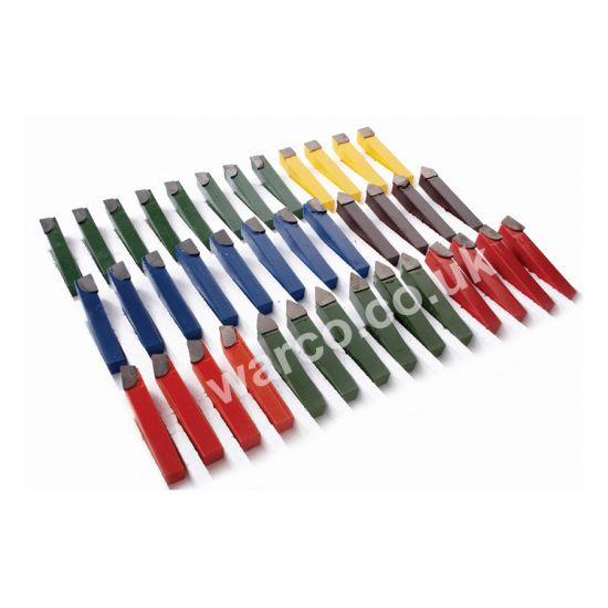 Lathe Tools 38 Piece - Carbide Brazed Imperial