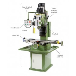 Super Major Milling Machine