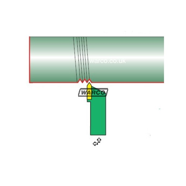 Threading Tip For Indexable Lathe Tools Thread Cutting Tips