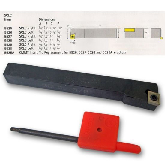 SCLC Index Lathe Tools