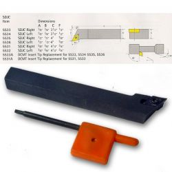 Indexable Lathe Tools - SDJC Tool Holder