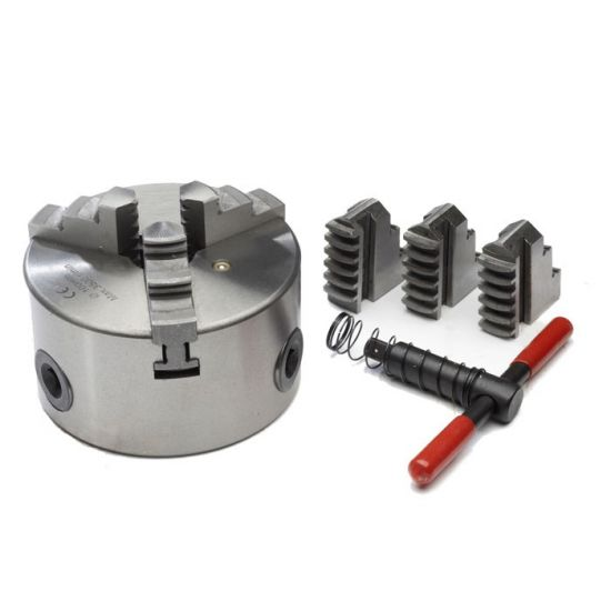 3 Jaw Chuck & Soft Jaws - Self Centering
