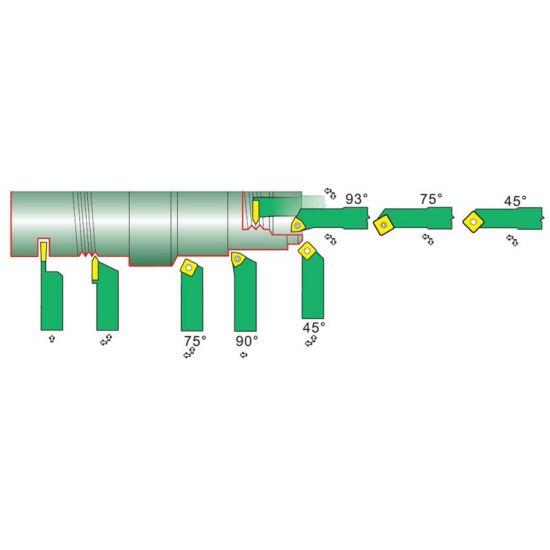 Indexable Lathe Tools - 9 Piece Set