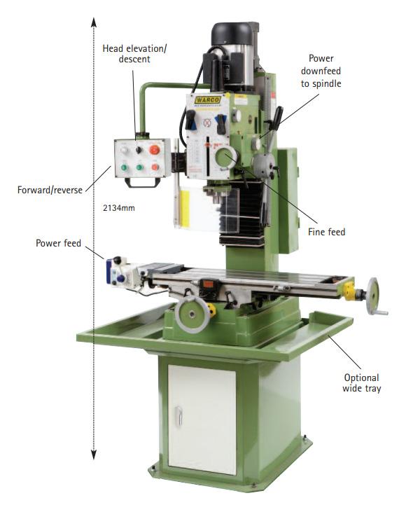 Warco Super Major Milling Machine