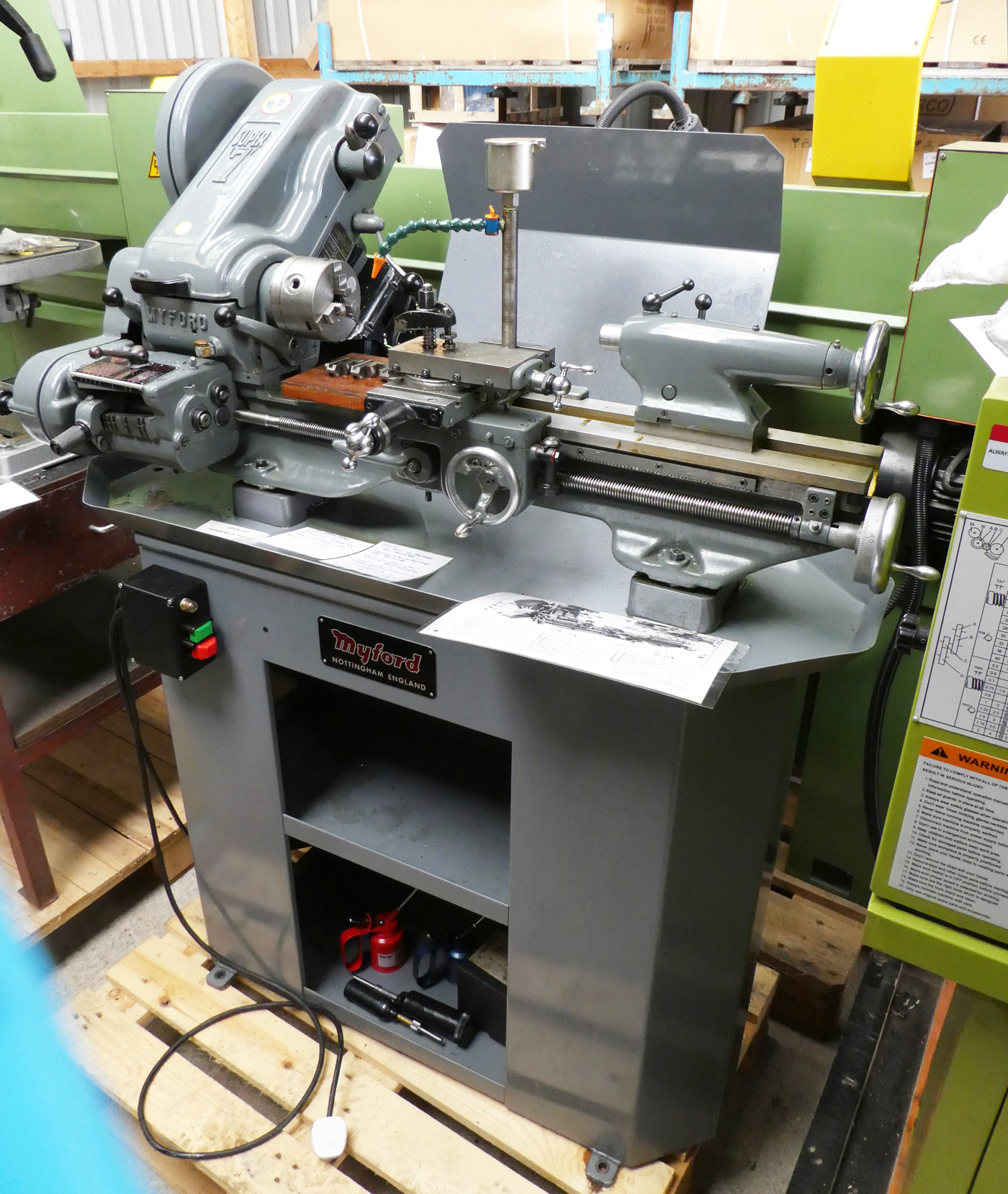 Myford Super 7 Lathe For Sale Reconditioned