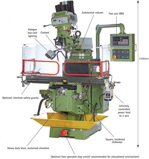Warco WM40 Milling Machine