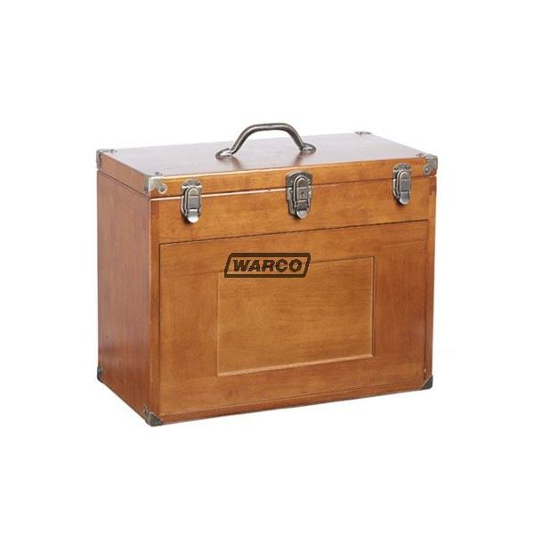 Wooden Tool Chest Wood Toolmakers Cabinet For
