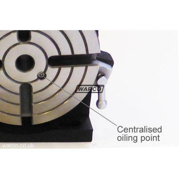 "6/"" Rotary table 4 SLOT Horizontal /& Vertical Precision Quality"