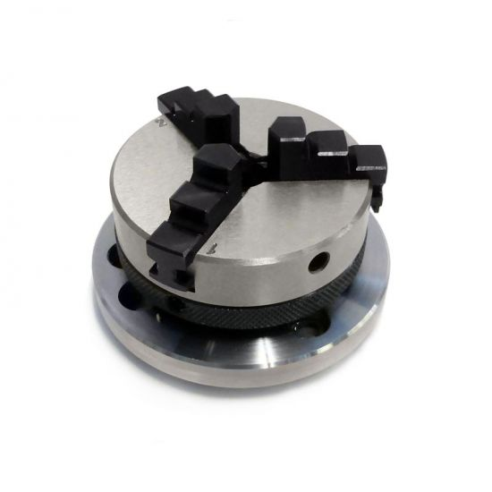 3 Jaw Self Centering Chuck - 75mm & 100mm Rotary Tables