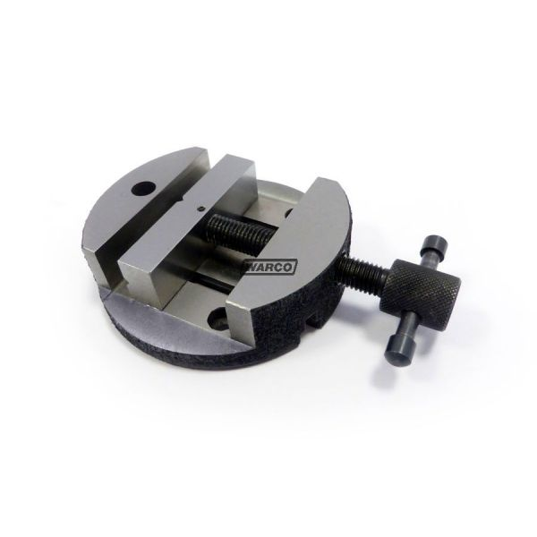"""100 mm 80 mm 80 mm Caste Iron Round Vice for 3/"""" Rotary Table and 4/"""""""
