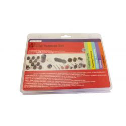 Polishing, Grinding, Sanding, Cutting Tools - 105 Piece Set