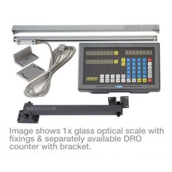 Warco DRO Digital Readout System Scales - Glass Optical