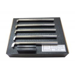 Boring & Threading Lathe Tools - 5 Piece Set