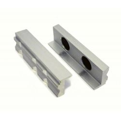 Aluminium Vice Jaws - Magnetic Alloy for Bench Vices
