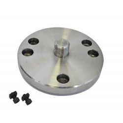 "Unimat Backplate for 3"" & 4"" Rotary Tables Chuck Adapter"