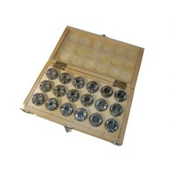 ER 32 Collets - 18 Piece Box Set