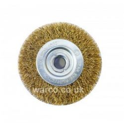 "Wire Brush Wheel - 6"" Bench Grinder"