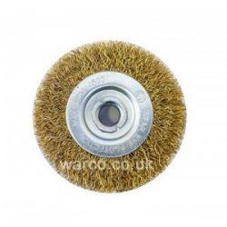"""Wire Brush Wheel - 6"""" Bench Grinder"""