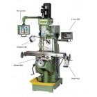 WM 50 Milling Machine Horizontal / Vertical Mill