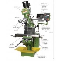 WM 20 Milling Machine