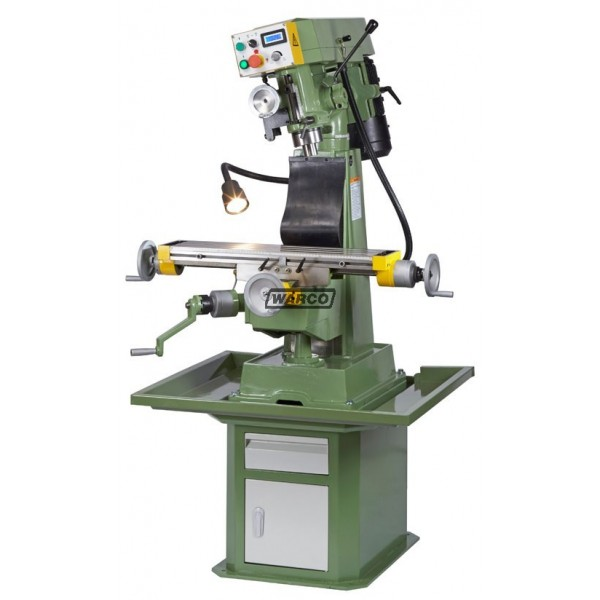Warco Vmc Vario Turret Mill Variable Speed Milling Machine