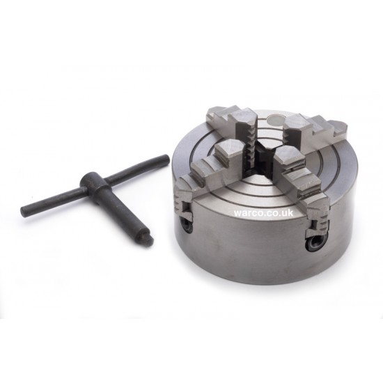 4 Jaw Independent Chuck for Mini Lathe