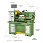 GH1230 Gear Head Lathe