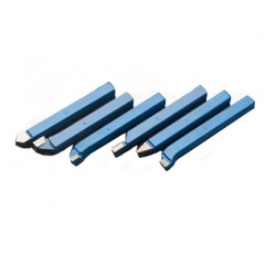 Tungsten Carbide TCT Lathe Tools - 6 Piece Set 8mm, 10mm