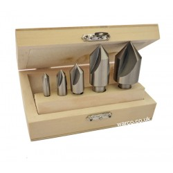 Countersink Set - 5 Piece 82°
