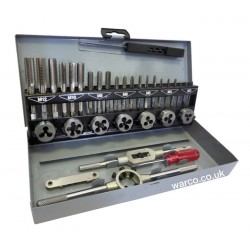 Tap & Die Set - Metric HSS 32 Piece