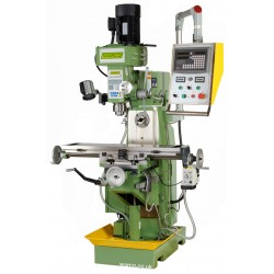 HV Universal Milling Machine - Horizontal & Vertical Mill