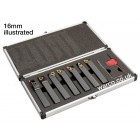 Indexable Lathe Tools - 7 Piece Set 8mm 10mm 12mm 16mm