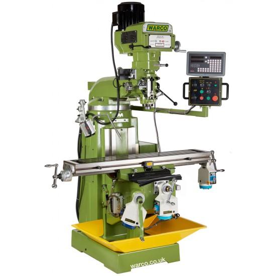 4VS Turret Mill - Precision Milling Machine