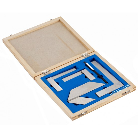 Engineers Set - Square, Centre Finder, Scriber