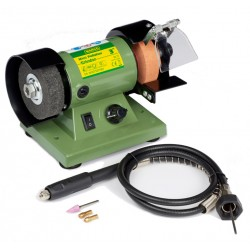 Mini Bench Grinder & Polisher 3""