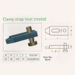 Clamp Strap Heat Treated