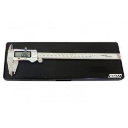 "Digital Vernier Caliper with Thumb Wheel - 200mm / 8"" Scale"