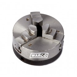 3 Jaw Self Centering Chuck & Backplate - 65mm for Rotary Tables