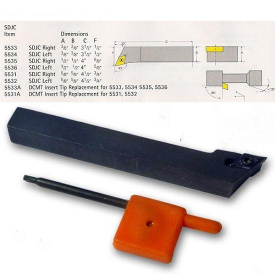 SDJC Index Lathe Tools
