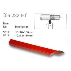 Din 282 60deg Carbide Tipped Tools