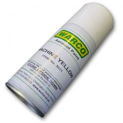 Warco Machine Paint - Green & Yellow