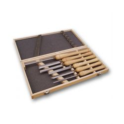 Woodturning Lathe Chisels - Set of 6