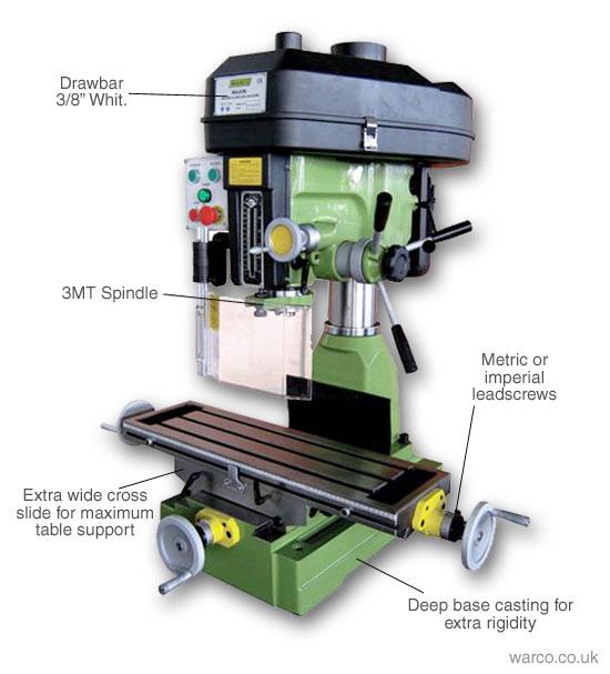 Warco Major Milling Machine